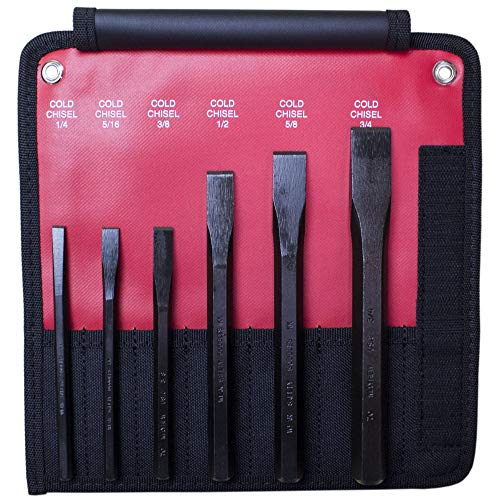 Mayhew Chisel - Mayhew Pro 60560 Cold Chisel Kit, 6-Piece