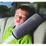 Car Safety Soft Comfortable Seat Belts Shoulder Sleeve Protector Pad Cover (Gray)