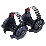 Webetop Kids Lighted Heel Skate Rollers Adjustable Two Wheels Skate Shoes Scooters,one Size Fits Most,60kg Weight Limited,with Portable Bag And Mini Wrench For Adjusting Size,black | amazon.com