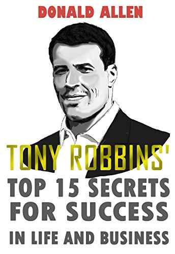 Tony Robbins Secrets Success Business ebook product image