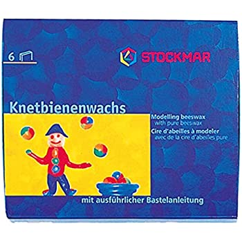 Stockmar Modelling Beeswax cray - 6 Colors -