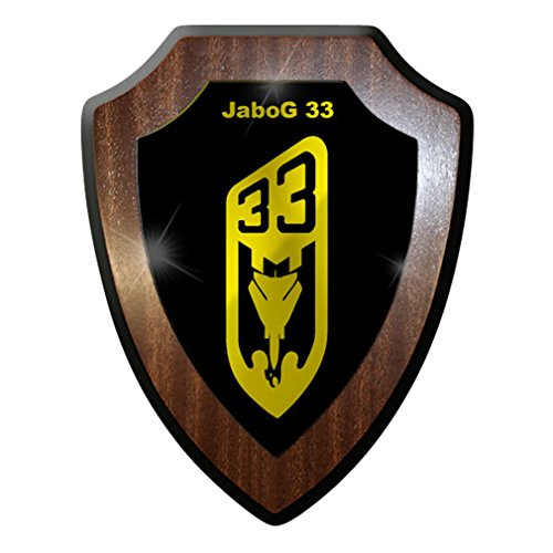 JaboG 33 fighter bomber Air Force squadron Bundeswehr soldiers jet plane Military - Escutcheon / Wall Sign