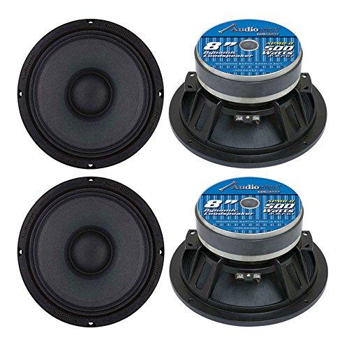 Low Frequency Loudspeaker Driver - 4) Audiopipe APMB8 8