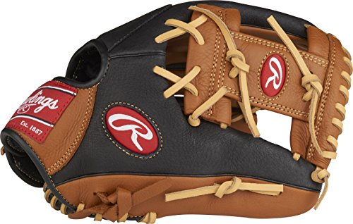 Rawlings Prodigy Youth Baseball Glove, Regular, Pro I Web, 11-1/2 Inch (Best Baseball Glove For 7 Year Old)