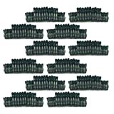 MagiDeal 240pcs Plant Support Clips Small + Large Reusable Garden Plant Clips