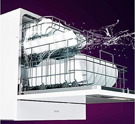 YANGSANJIN Mini lavavajillas 6 programas Pantalla LED Azul: Amazon ...