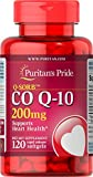 Puritan's Pride Q-SORB CoQ10 200 mg, Dietary Supplement, Promotes Energy Production in Heart, Brain, and Muscles, 120 Rapid Release Softgels Review