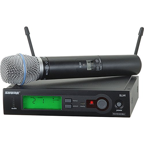 (Shure SLX2/BETA87A Handheld Wireless Microphone Transmitter, H19)