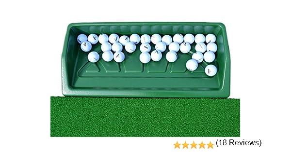 Pelota de golf bandeja grande (puede sostener 100 bolas de golf ...