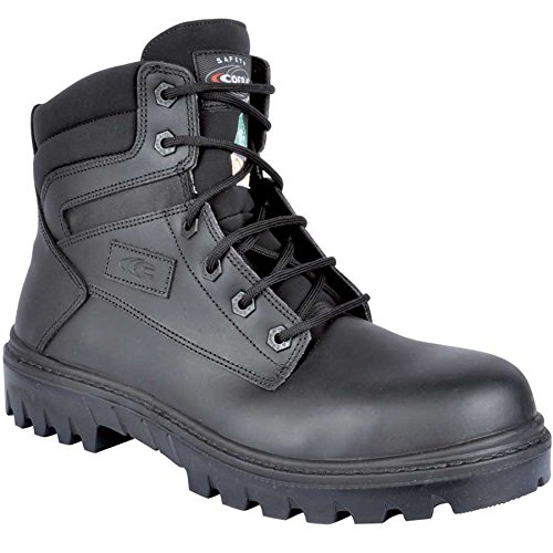 Metallic Safety Non Boots Men's Chicago Cofra Black 7wEqAvX4Wx