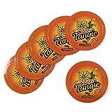 "Orange Tangie Live Resin 0.5 Gram Medical Marijuana Cannabis Rx Labels Stickers 1"" CS-001"
