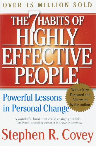 The 7 Habits of Highly Effective People by Stephen R. Cove