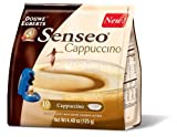 Senseo Cappuccino Coffee, 10-Count Pods (Pack of 4)