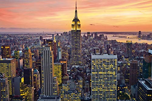 New York City (Empire State Building, Sunset)