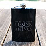 8oz-BLACK-Thats-What-I-Do-Flask-L1