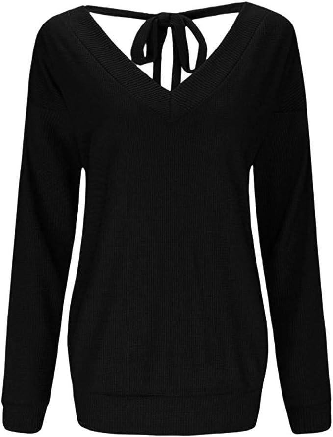 Darringls Camisetas para Mujer, Tops para Mujer Casual Camiseta ...