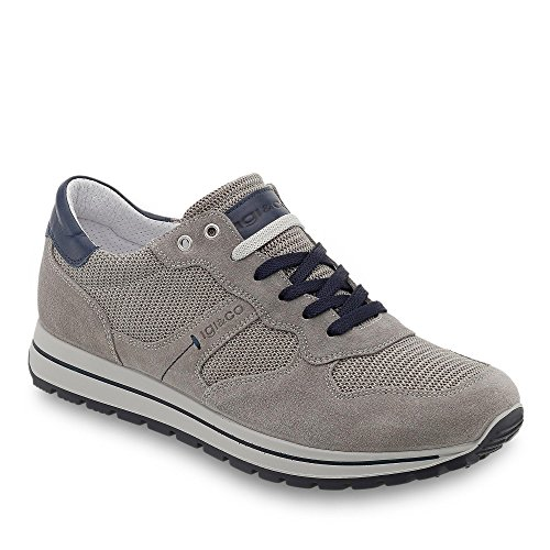 Homme 77132 00 Gris Baskets Bleu Co Igi Basses amp; x7q1wIBvB