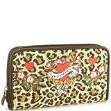 Kim Flower Girl Zip Around Wallet – Leopard, Bags Central