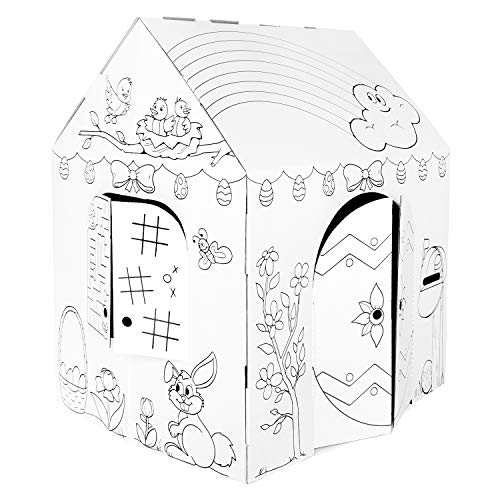 Easy Playhouse Spring Cottage