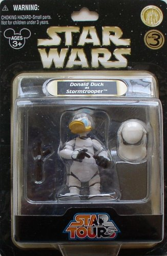 Disney's Star Wars Star Tours Donald Duck as Stormtrooper