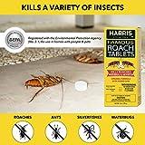 Harris Roach Tablets, Boric Acid Roach Killer with