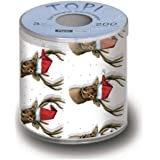 Reindeer Christmas Toilet Paper | Topi