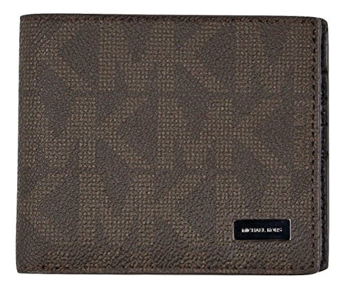 Michael Kors Jet Set Mens Billfold Wallet (Brown)