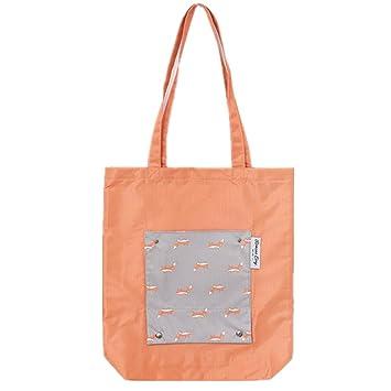1x Faltbar Wiederverwendbar Groß Shopping Handtasche Einkauf Aufbewahrungstasch
