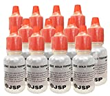 PuriTest 18k Gold Testing Acid-12 Bottles Free 5g