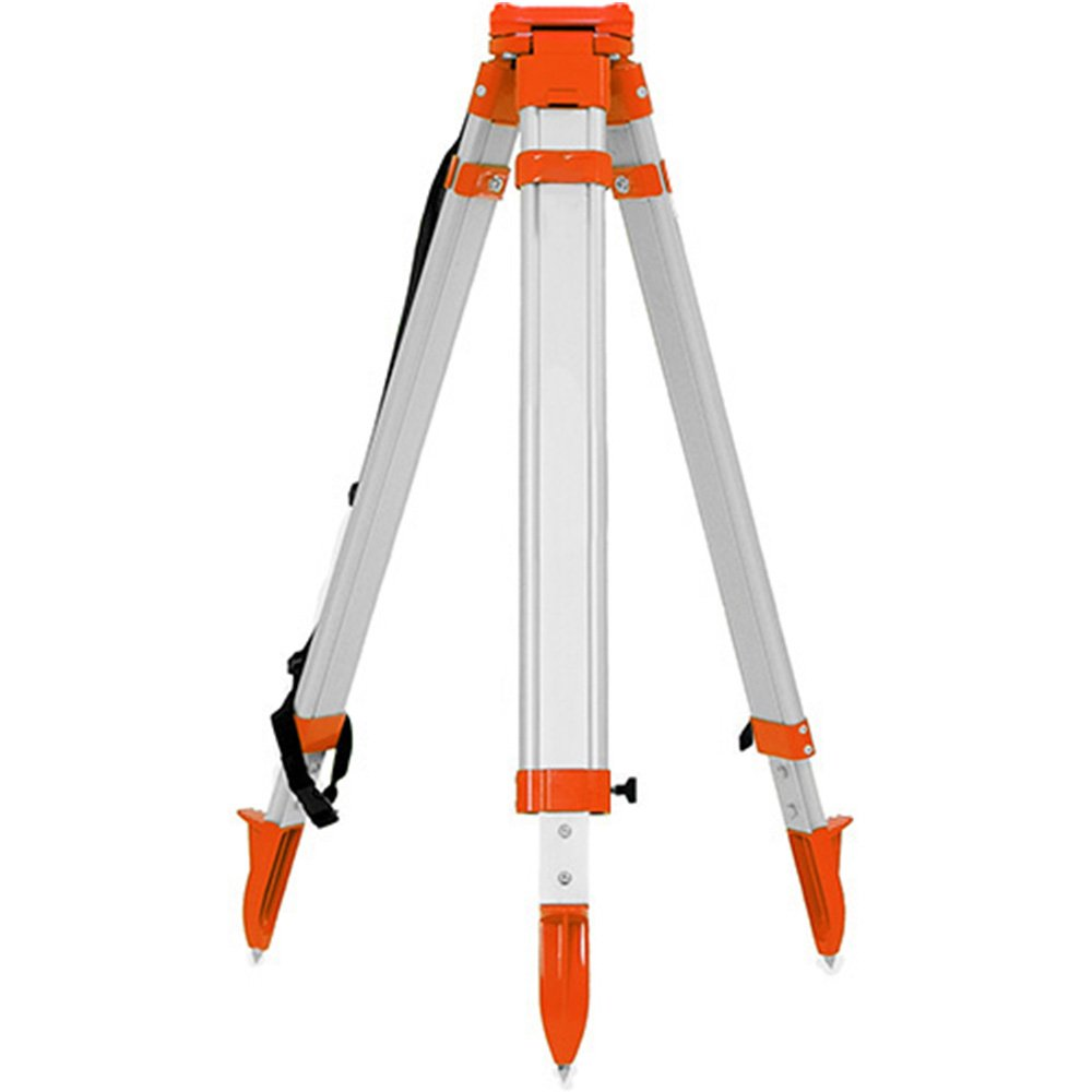 Heavy Duty Aluminum Tripod Twist lock works with Total Stations, Auto Level, etc
