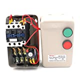 Baomain Three Phase Magnetic Starter Motor Control QCX5-11KW 14-22A 24V AC Coil Contactor 15 HP 3