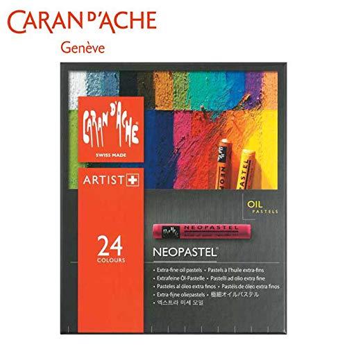 専門的なテクニックが生かせます。 カランダッシュ 7400-324 ネオパステル 24色セット 紙箱入 619432 〈簡易梱包   B07S59ZRFB