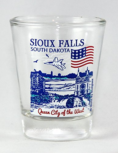 (Sioux Falls South Dakota Great American Cities Collection Shot Glass )