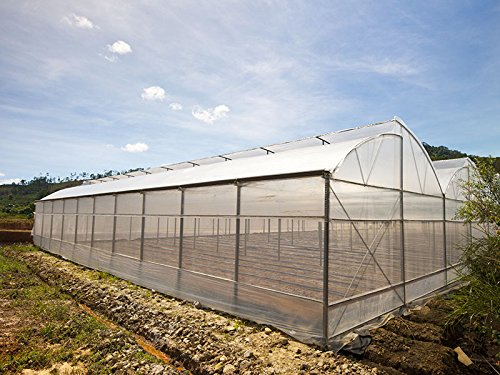 Greenhouse Plastic Film Clear Polyethylene Cover UV Resistant, 20 ft Wide x 25 ft Long by Farm Grow by Farm Grow (Image #4)