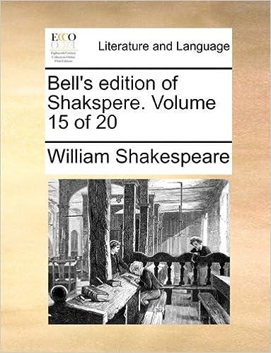 Buchen Sie das PDF-Format kostenlos Bell's edition of Shakspere.  Volume 15 of 20 PDF
