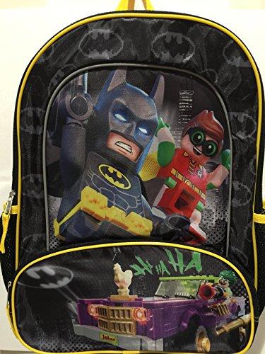 Price comparison product image Lego Batman Robin Joker Full Size 16 inch DC Comics School Backpack