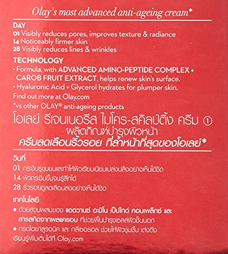 Olay Regenerist Micro-Sculpting Cream, Anti Aging Moisturizer,1.7 oz
