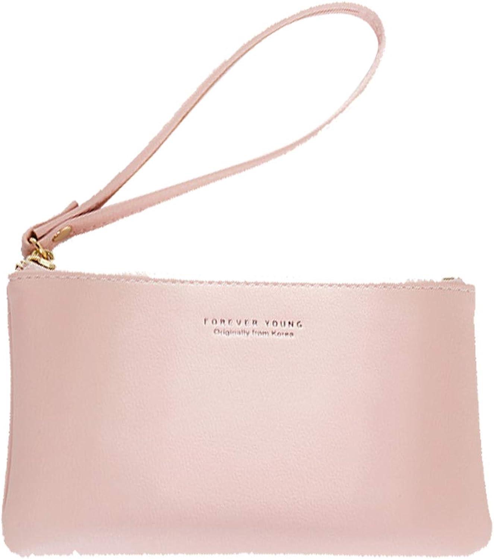 Oichy Wristlet Wallet Purse for Women PU Leather Smartphone Wristlet Clutch Ladies Small Clutch Wallets