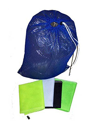 Armor Mesh Bag all Purpose Sack with Draw String Closure Wet Gear Clothing Scuba Dive Diving Snorkel Kayak Beach Swim Gear Tennis Sports Bag , Yellow 12