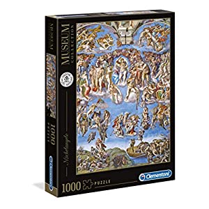 Clementoni Vatican Puzzle Michelangelo Giudizio Universale Multicolore 39497