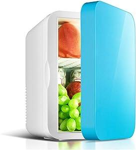 Pinzhi Compact Refrigerators 6L Dual-Purpose Small Refrigerator, Refrigeration and Heating Car Refrigerator, Semiconductor Refrigeration. Compact Refrigerators