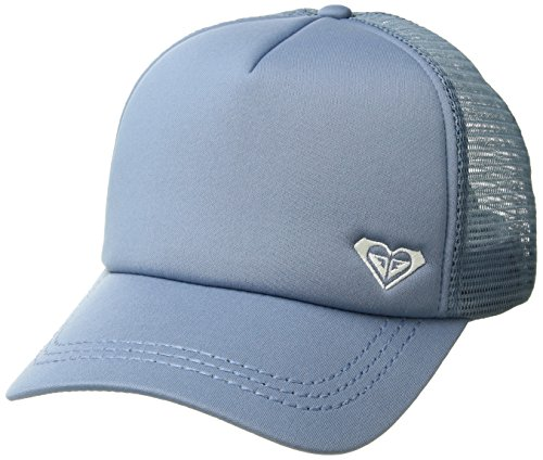 Roxy Junior's Finishline Trucker Hat, Blue Shadow, One Size ()