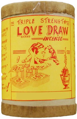 Triple Strength Love Draw Powdered Voodoo Incense 16 -