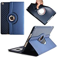 Case for iPad Air 2,Dream Wings 360 Degrees Rotating Slim Stand with Card Slots Smart Screen Protective Detachable Case Cover for Apple iPad Air 2 9.7 inch Tablet(iPad Air 2, Blue)