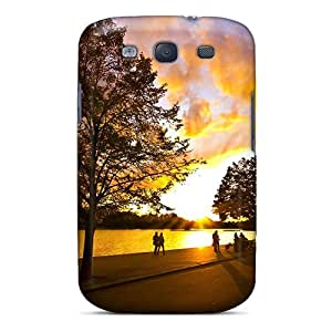 Awesome Design Sunset Hard Case Cover For Galaxy S3