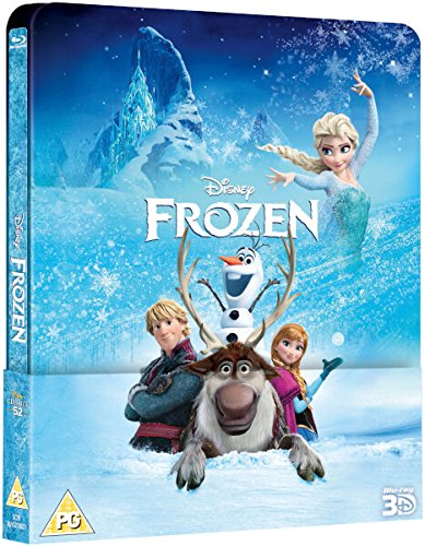 Disney's FROZEN Steelbook with Lenticular Magnet