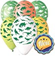 "Dinosaur Balloon 30cm-12"" Assorted Colours. 10 pcs"