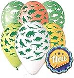 "Dinosaur Balloon 30cm-12"" Assorted Colours. 10 pcs"