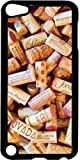 Wine Corks- Case for the Apple Ipod 5th Generation-Hard Black Plastic