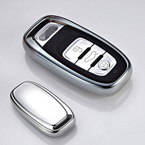 qinling-smart-keyless-key-trim-cover-case-shell-for-audi-a4-a6-tt-q3-q5-car-styling-silver